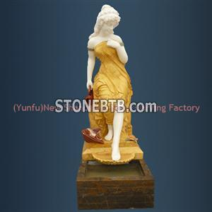 Outdoor/Indoor Water Spray Sculpture Stone Fountai