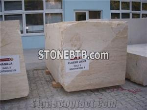 Classic Vein Cut Travertine Blocks