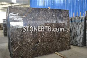 China Brown Marble Slabs