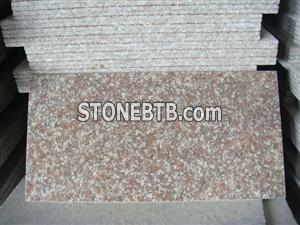 G687 pink red slabs and tiles