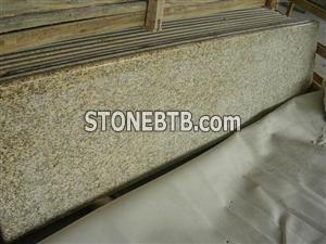 Tiger Skin Yellow granite countertop