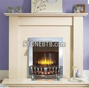 Marble fireplace ,interior fireplace