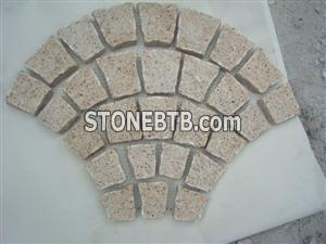 Granite Fan-Shaped Paving Stone