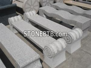 Granite bench L20 30 red pock