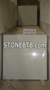 Crystal white marble A Grade