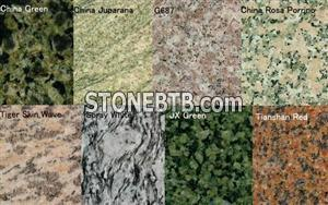 Granite & Marble for tile, slab, stair