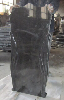 Shanxi black figure tombstone monument