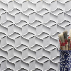 Natural stone 3d cnc interior wall panel