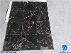 Black Portoro Marble Tiles & Slabs,Athens Portoro Marble Tiles,China Black Marble