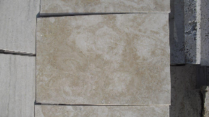 Light Travertine Brushed Unfilled