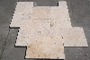 Travertine Light CC Tumbled Unfilled