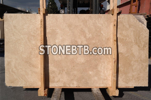 Travertine Light Honed Filled Slab