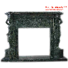 Green marble Fireplaces Customised - Hestia Made