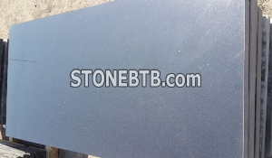 Shanxi black granite with goldern spots gravestone