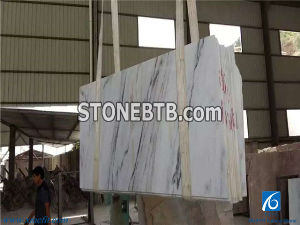 Burma White Jade Marble Slabs,Cut-To-Size Floor and Wall Tiles, China White Marble