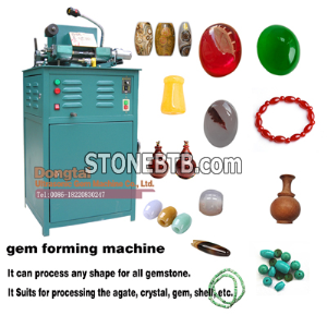 Gem forming machine