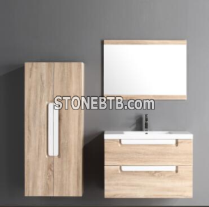 China Top 1 Factory Bathroom Vanity PVC Foiled Base Cabinet