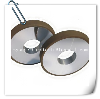 Resin diamond wheels for thermal spraying material