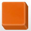 Orange Solid Surface 100% Pure Acrylic Stone BA-PM1111