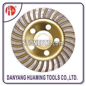 HM-51 115mm Turbo Cup Grinding Wheel