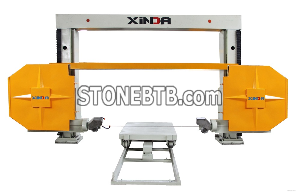 CNC wire saw machine