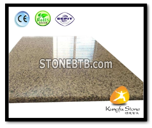 Tiger Yellow Granite Island Tops
