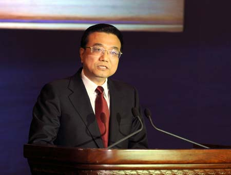 Chinese Vice Premier underscores growth target, int'l co-op amid crisis