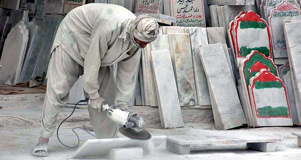 Suspension of supplies hits marble business