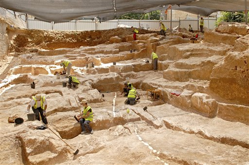 Ancient quarry found in Jerusalem