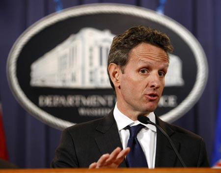 International financial system must be reformed Geithner