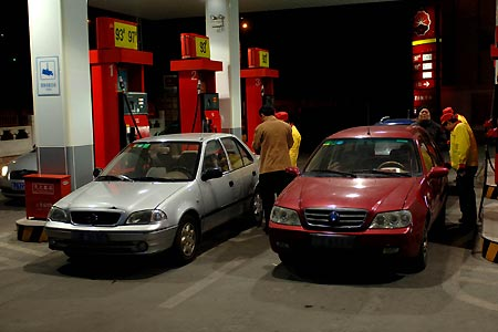 China raises gasoline diesel benchmark prices