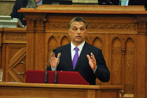 Hungarian PM announces new economic rescue package