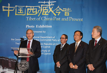 Exhibition introduces Tibet to Cypriots