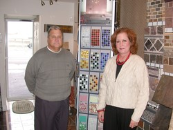 Downtown showroom opens for tile and stone business