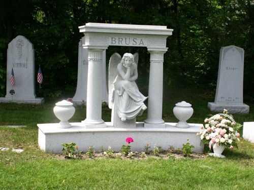 Hope Cemetery in Barre Vermont Granite memorials as timeless art
