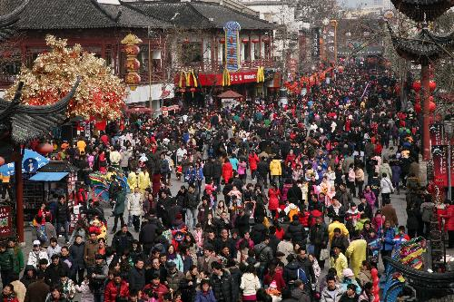 China tourism revenue up 26 9 during Spring Festival holiday period