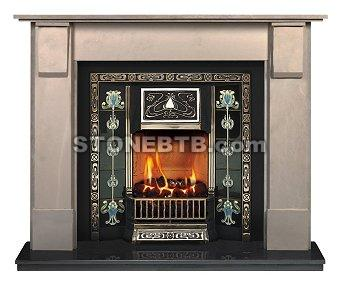 Edward Corbel Fireplace