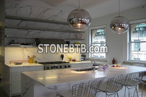 Snow Flower White Countertop