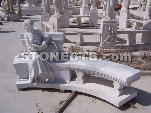 marble and granite bench