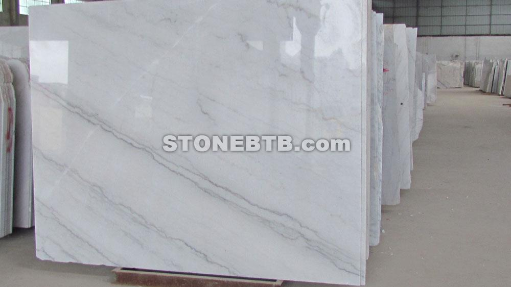 China White Marble Slab And White Marble Tile Guangxi