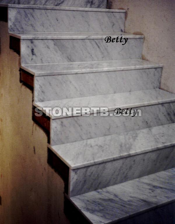 White Granite Stair