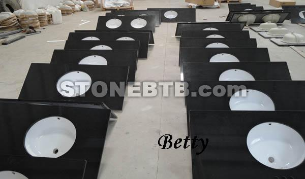 Shanxi Black Vanity Tops