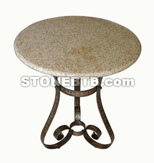 Granite Top w/ Iron Base 2