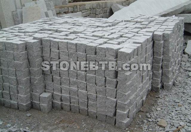 G603 Grey Granite Sett