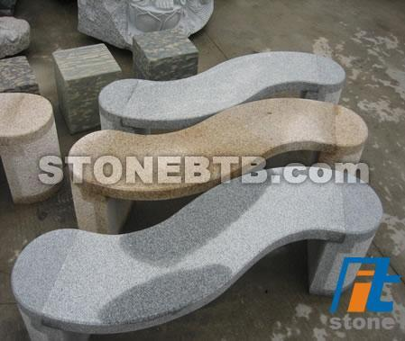 Ourdoor Funiture Stone Table and Bench