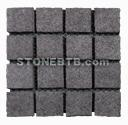 G684 Granite paver on mesh