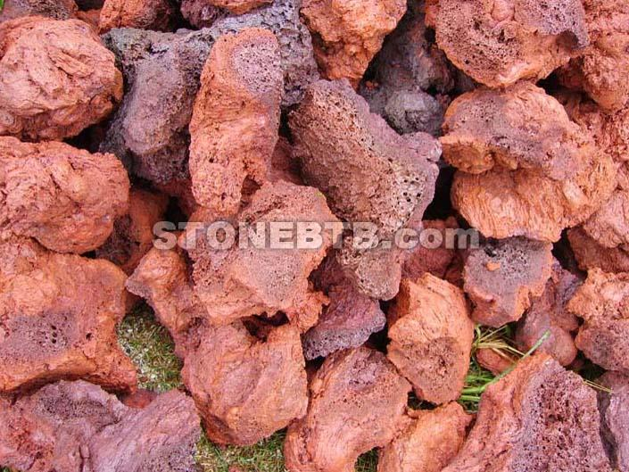 Red Pumice Stone : Red lava rock lave stone supply of