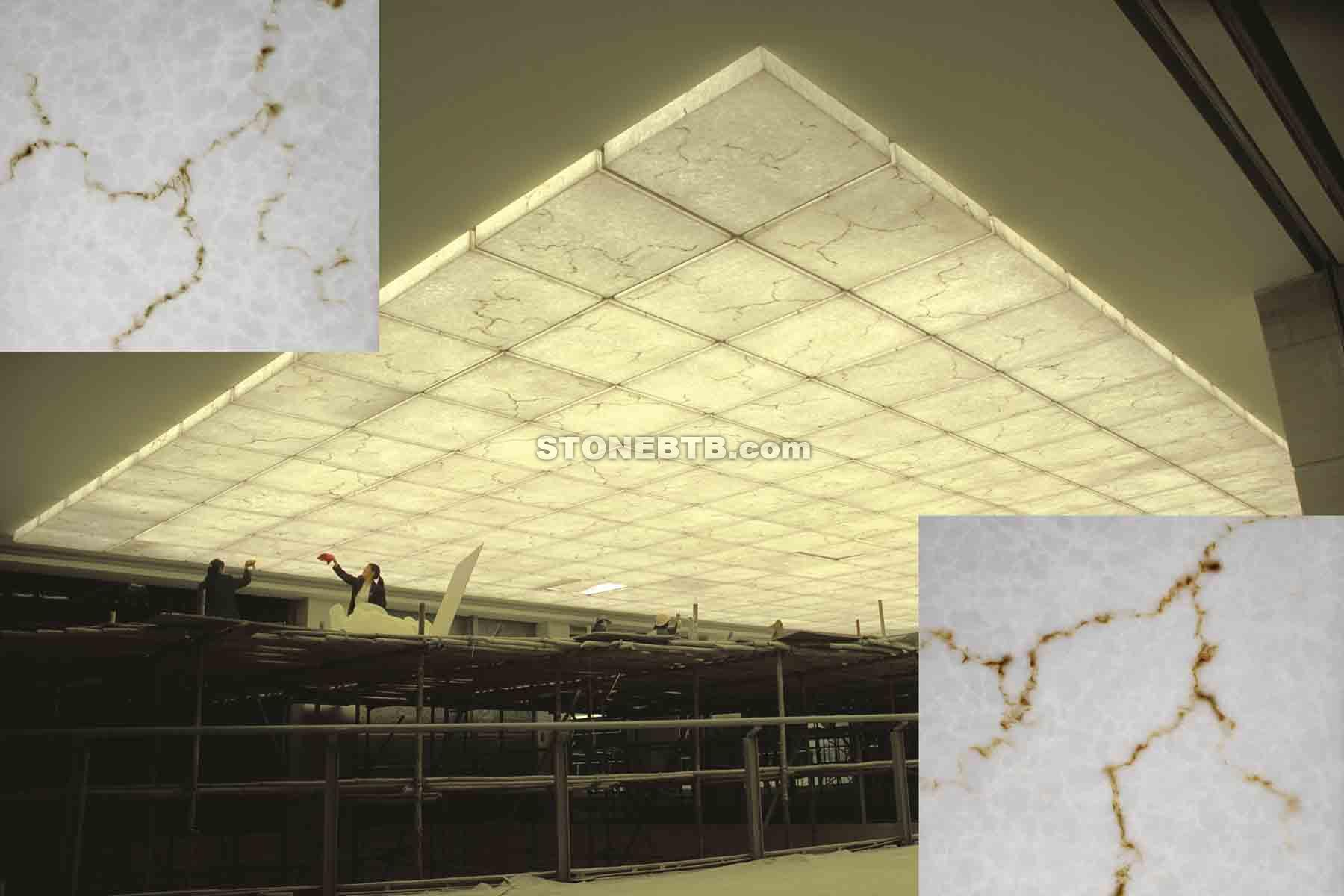 resin translucent marble stone panel