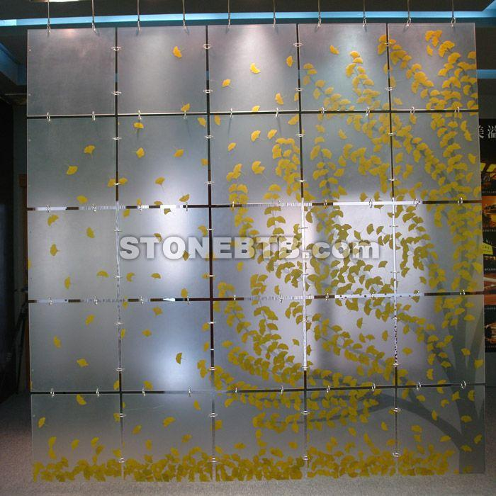 Nature Stone Acrylic Decoration Material Wall Panel