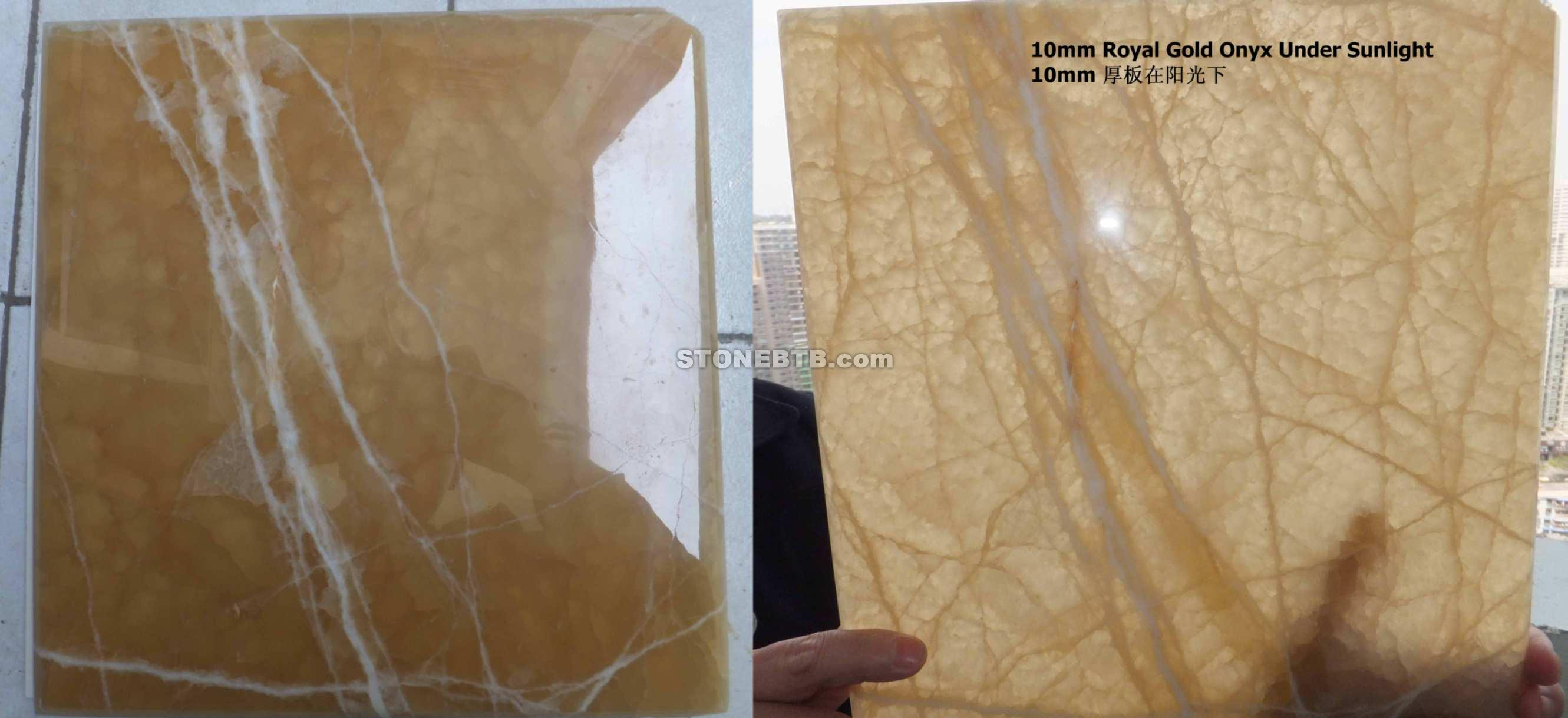 Royal Honey Onyx Tiles